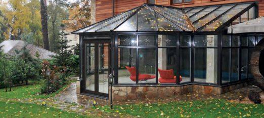 Теплые окна для зимнего сада