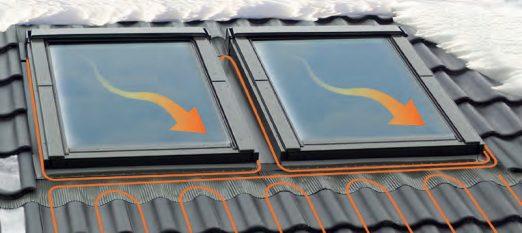 мансардные окна с обогревом